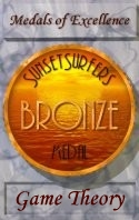 SunsetSurfers Bronze Medal of Excellence