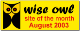Wise Owl Site of the Month